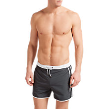 Buy BOSS Butterfly Swim Shorts, Grey Online at johnlewis.com