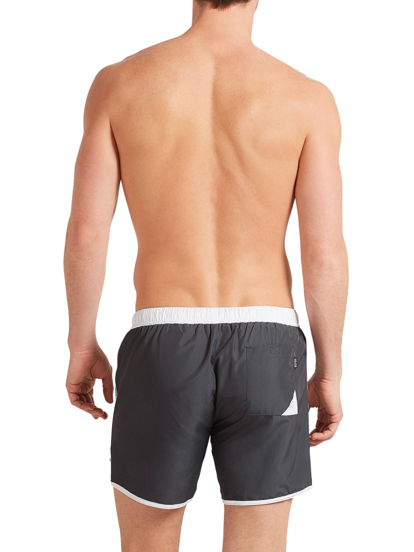 ca0393876c ... Buy BOSS Butterfly Swim Shorts, Grey, M Online at johnlewis.com ...