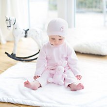 Buy Emile et Rose Liz Pom Pom & Bow 3 Piece Set, Pink Online at johnlewis.com