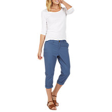 Buy Fat Face Lulworth Chino Cropped Trousers Online at johnlewis.com