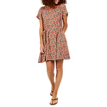 Buy Fat Face Hatty Jewel Geo Print Dress, Blush Online at johnlewis.com