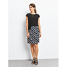 Buy hush Lisbon Wrap Skirt, Bird Print Online at johnlewis.com