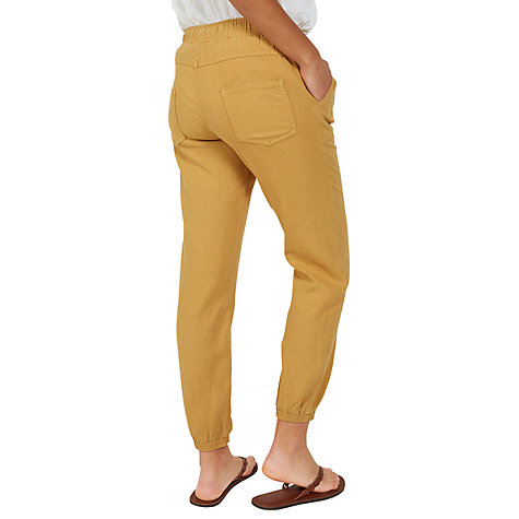 Buy Fat Face Linen-Blend Drawstring Trousers Online at johnlewis.com