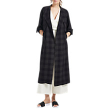 Buy Grace & Oliver Molly Slouchy Trench Coat, Navy Online at johnlewis.com