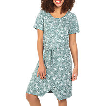 Buy Fat Face Cally Floral Dress, Ocean Blue Online at johnlewis.com