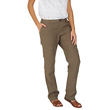 Buy Fat Face Linen Trousers Online at johnlewis.com