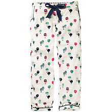 Buy Fat Face Balloon Print Trousers, Ivory/Multi Online at johnlewis.com