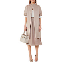 Buy Reiss Melissa Belted Coat, Tiramisu Online at johnlewis.com