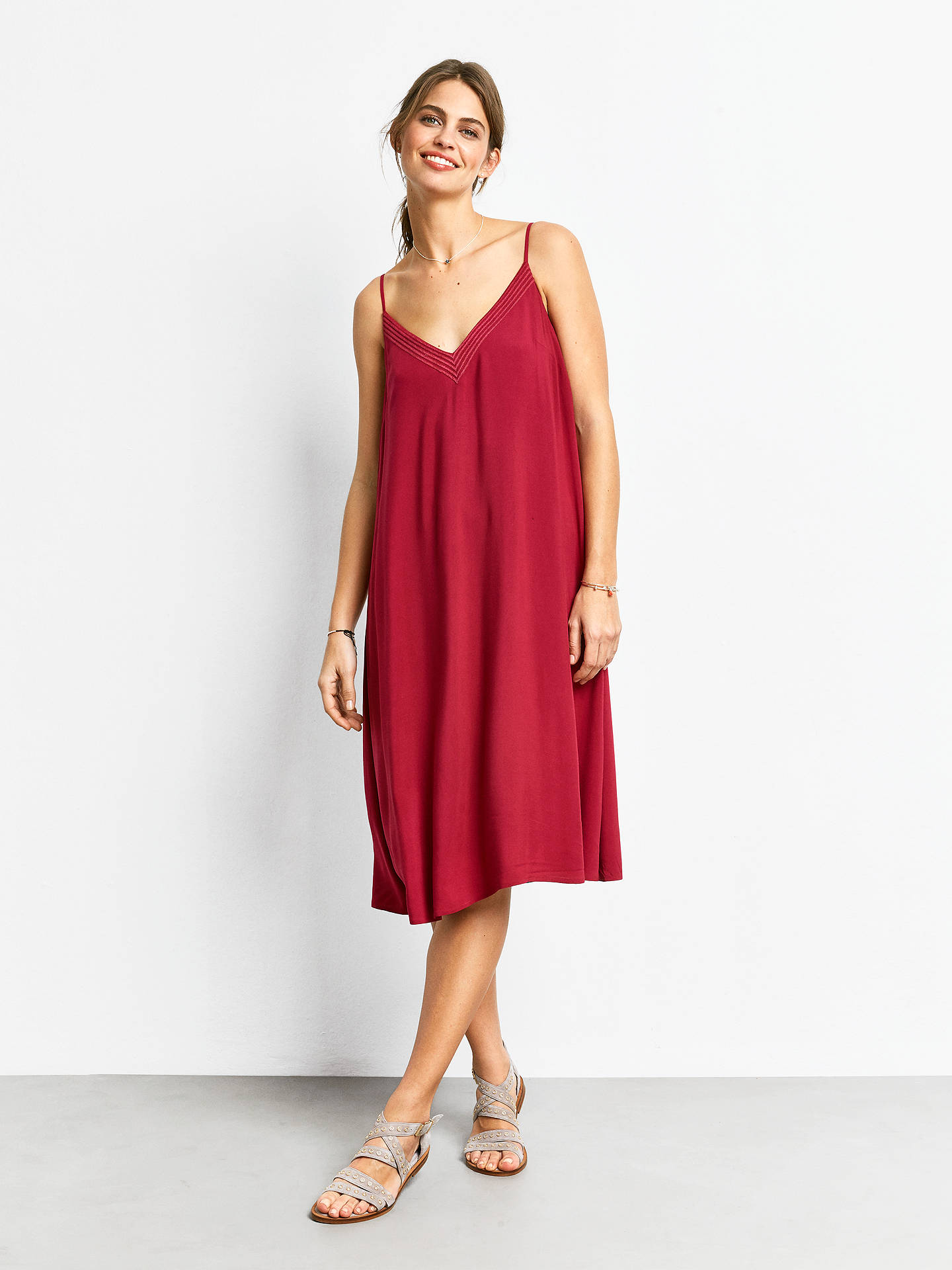 1572fee7b35c Buy hush Jasmine Dress, Anemone, 6 Online at johnlewis.com ...