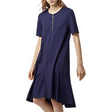 Buy Warehouse Zip Pull Dress, Navy Online at johnlewis.com