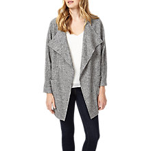 Buy Phase Eight Fausta Fleck Knitted Coat, Grey Online at johnlewis.com