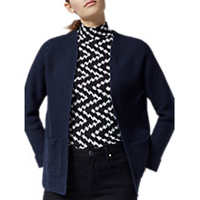 Buy Warehouse Stitch Pocket Cardigan, Navy Online at johnlewis.com