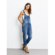 Buy hush Dungarees, Blue Online at johnlewis.com