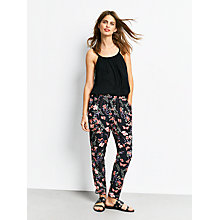 Buy hush Relaxed Trousers, Botanical Print Online at johnlewis.com