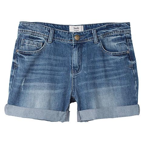 Buy hush Denim Shorts, Blue | John Lewis