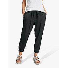 Buy hush Monaco Trousers, Black Online at johnlewis.com