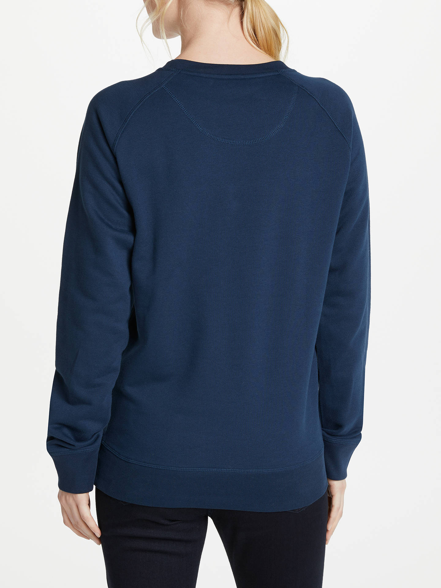 Buy Selfish Mother Winging It Crew Neck Sweatshirt, Navy/Silver, S Online at johnlewis.com