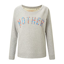 Buy Selfish Mother Mother Scoop Neck Sweatshirt, Grey/Neon & Pale Blue Floral Online at johnlewis.com