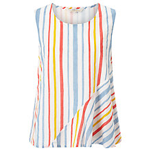 Buy People Tree Avalon Stripe Top, Multi Online at johnlewis.com