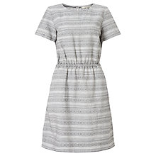 Buy People Tree Eden Dress, Black/White Online at johnlewis.com