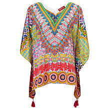 Buy Ruby Yaya Ravello Short Kaftan, Multi Online at johnlewis.com