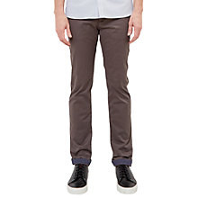 Buy Ted Baker T for Tall Exmortt Geo Print Trim Chinos, Grey Online at johnlewis.com