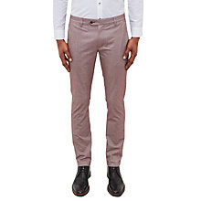 Buy Ted Baker Curlong Slim Fit Oxford Trousers Online at johnlewis.com