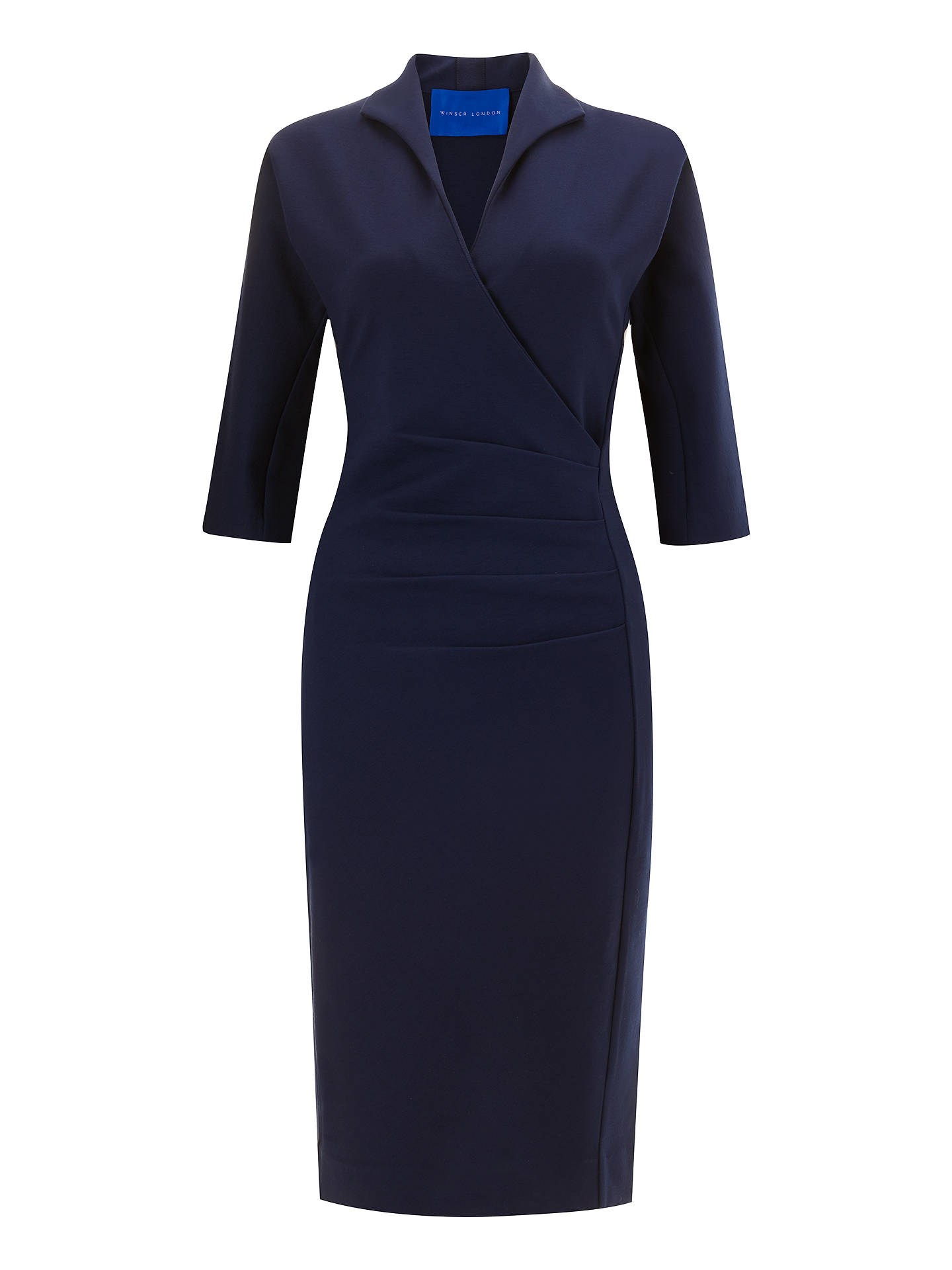 BuyWinser London Grace Miracle Dress, Midnight Navy, 6 Online at johnlewis.com