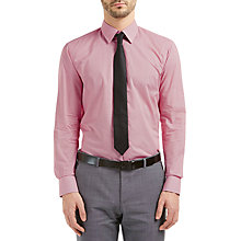 Buy HUGO by Hugo Boss Cenzo All Over Print Regular Fit Shirt, Medium Red Online at johnlewis.com