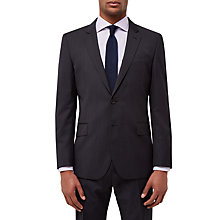 Buy Jaeger Diamond Regular Fit Suit Jacket, Charcoal Online at johnlewis.com