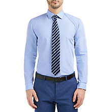 Buy HUGO by Hugo Boss C-Joey Plain Cotton Slim Fit Shirt Online at johnlewis.com