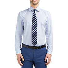 Buy HUGO by Hugo Boss Ceraldi Fine Stripe Regular Fit Shirt Online at johnlewis.com