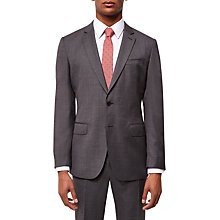 Buy Jaeger Super 120s Wool Regular Fit Suit Jacket, Grey Online at johnlewis.com