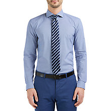 Buy HUGO by Hugo Boss C-Jery Mini Check Slim Fit Shirt Online at johnlewis.com