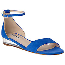 Buy L.K. Bennett Cai Wedge Heeled Sandals Online at johnlewis.com