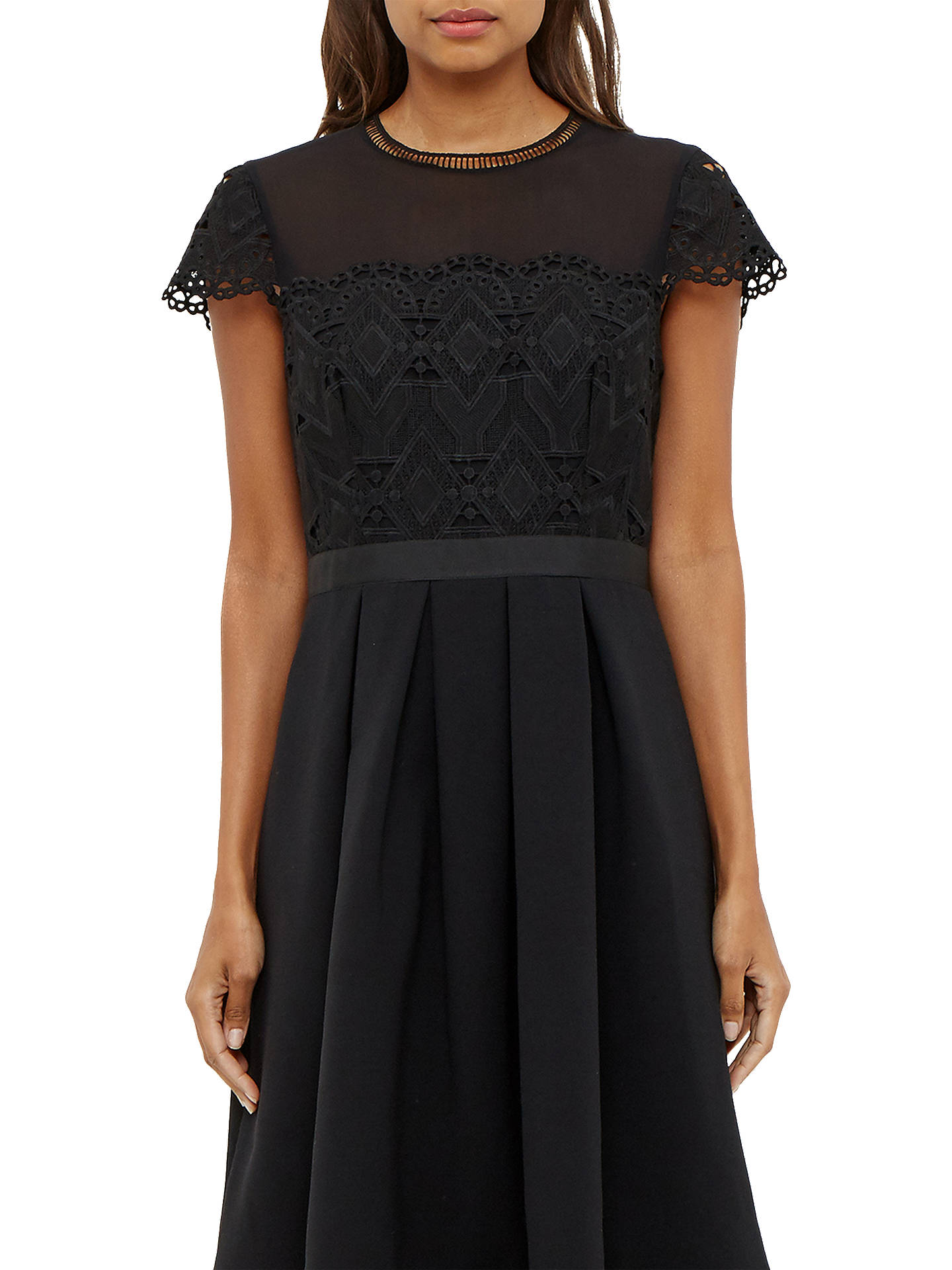 5cd0c802d785 ... Buy Ted Baker Frizay Lace Bodice Full Midi Dress