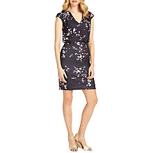 Buy Phase Eight Mia Blossom Print Dress, Charcoal/Pink Online at johnlewis.com