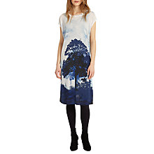 Buy Phase Eight Carlotta Tree Print Dress, Ink Online at johnlewis.com