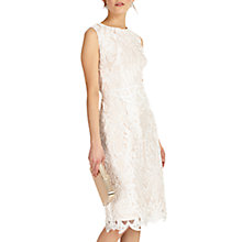 Buy Phase Eight Devita Dress, Cameo/Ivory Online at johnlewis.com