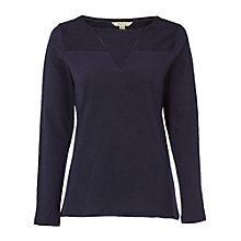 Buy White Stuff Mix It All Around Jersey T-Shirt, Navy Online at johnlewis.com