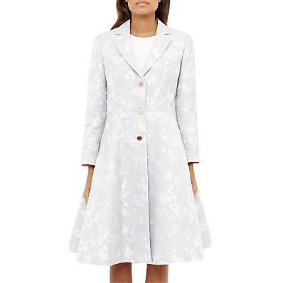 Ted Baker Fraully Oriental Jacquard Tailored Coat.