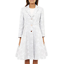 Buy Ted Baker Fraully Oriental Jacquard Tailored Coat Online at johnlewis.com