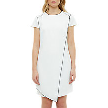 Buy Ted Baker Artiro Asymmetric Tunic Dress, White Online at johnlewis.com