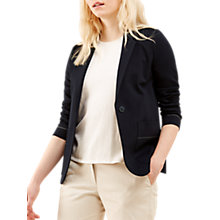 Buy Jigsaw Precision Stitch Jacket, Dark Navy Online at johnlewis.com
