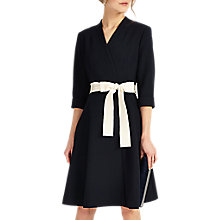 Buy Phase Eight Perdita Wrap Dress, Navy Online at johnlewis.com