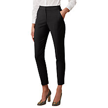 Buy Hobbs Katy Trouser, Charcoal Online at johnlewis.com