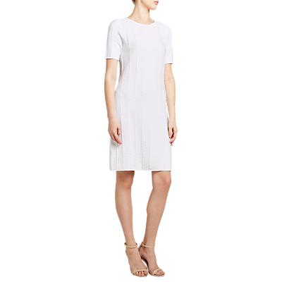 Winser Cotton Chevron Dress, White