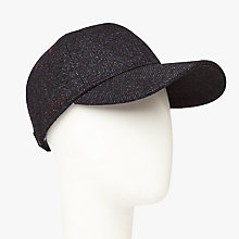 Buy Ted Baker Choco Wool Blend Baseball Cap, Navy Online at johnlewis.com