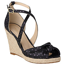 Buy L.K. Bennett Angeline Wedge Heeled Sandals Online at johnlewis.com