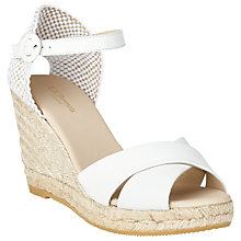 Buy L.K. Bennett Angele Wedge Heeled Sandals Online at johnlewis.com